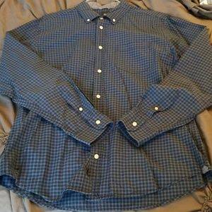 Long sleeve men's button down